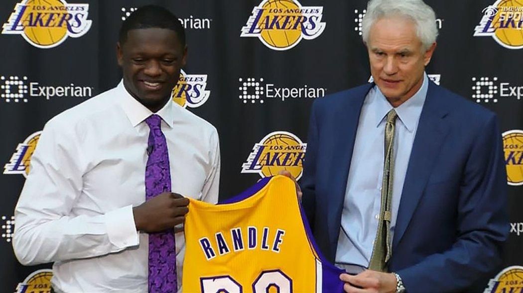 Lakers rookie forward Julius Randle's status for Summer League still uncertain