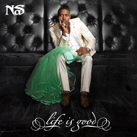 Nas opens up about album cover with Kelis' wedding dress