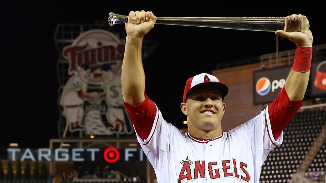 Angels' Mike Trout gives All-Star MVP performance