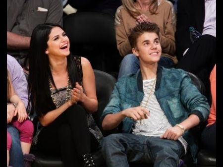 Justin Bieber and Selena Gomez caught on 'Kiss Cam' at Los Angeles Lakers game