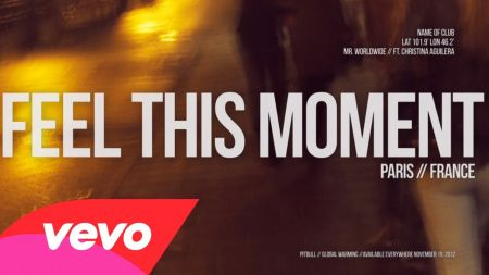 Pitbull releases official 'Feel This Moment' lyric video