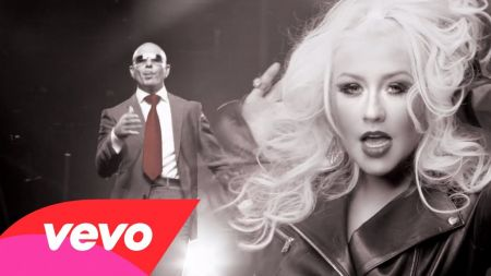 Pitbull releases 'Feel This Moment' music video featuring Christina Aguilera