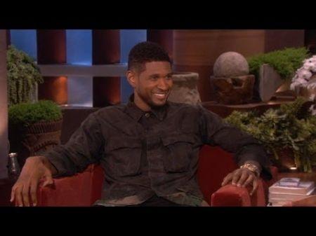 Usher defends Justin Bieber on 'Ellen'