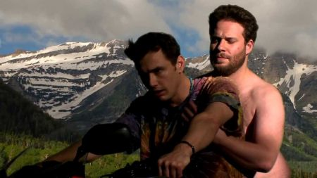 Seth Rogan, James Franco parody Kanye West's 'Bound 2' music video