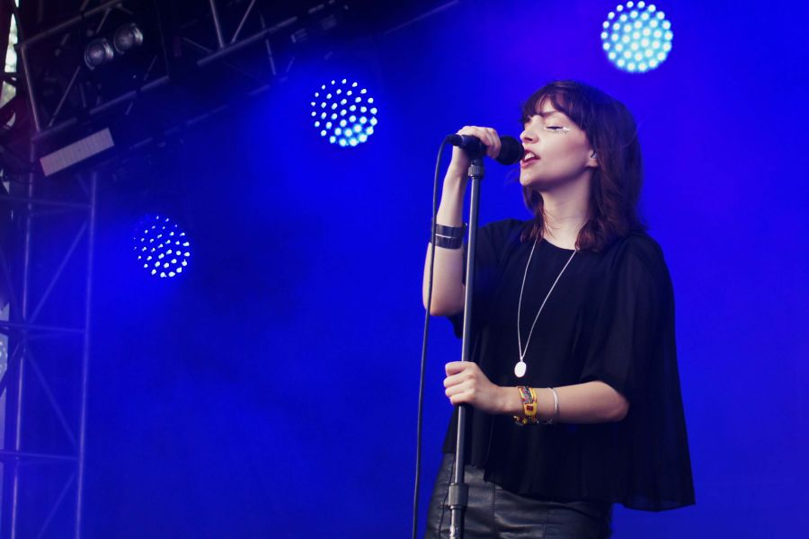 In Photos: Chvrches at Lollapalooza Day 1