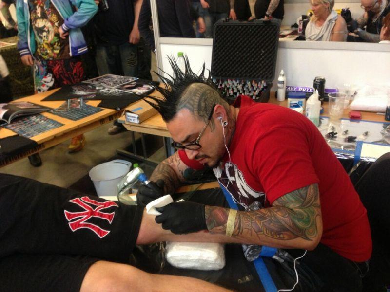 Las Vegas Art 'N' Ink Festival, 2013.