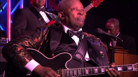 B.B. King with upcoming NYC shows at (where else?) B.B. King's Blues Club