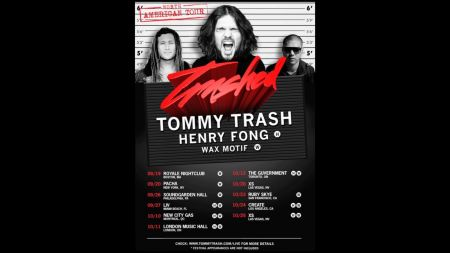 Tommy Trash announces the 'Trashed' North America tour