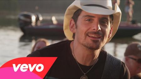 Brad Paisley has a little too much moonshine in his trunk