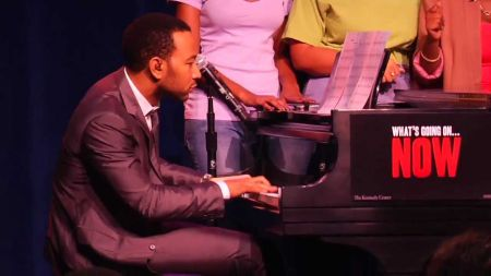 John Legend joins LA Philharmonic in Marvin Gaye Tribute Concert