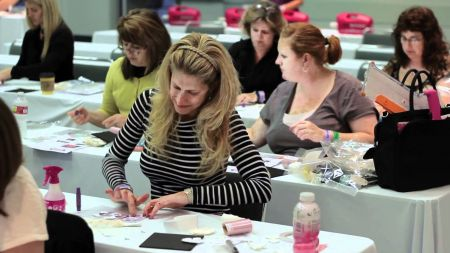 It's a crafters paradise: The Scrabook Expo visits the Denver Merchandise Mart