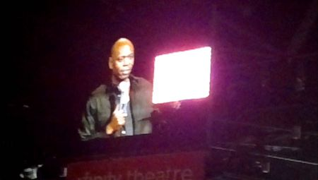 Dave Chappelle makes surprise appearance in Hartford