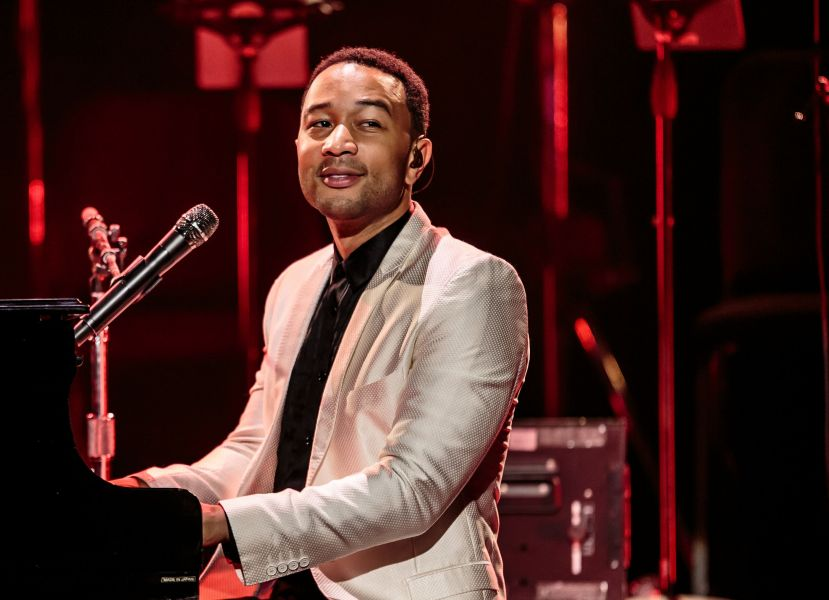John Legend performs at The Chelsea at The Cosmopolitan of Las Vegas on Aug. 24, 2014.