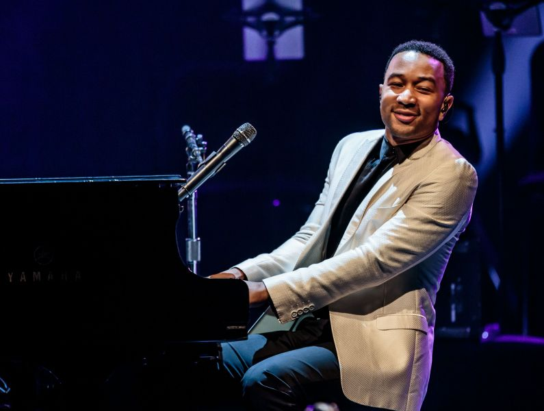 John Legend performs on The Chelsea stage in Las Vegas