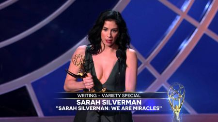 Sarah Silverman & Louis C.K. win Emmy Awards