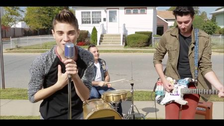 Nothing can get in the way of pop performer Nick Tangorra and his fans