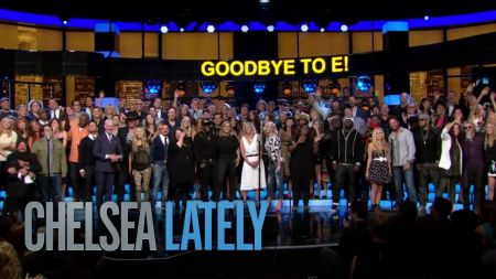 Chelsea Handler says 'Goodbye to E!' with star-studded finale