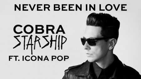 Cobra Starship samples Fatboy Slim on 'Never Been in Love' featuring Icona Pop