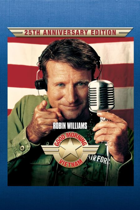 """The 1987 film """"Good Morning, Vietnam"""" showed the world that while Williams is inarguably a comedic genius, he is also a brilliant serious ac"""
