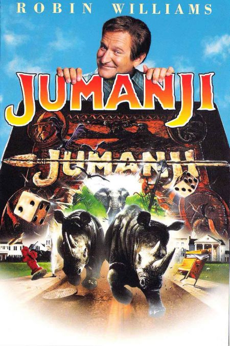 """The 1995 film """"Jumanji"""" is a perfect example of what can happen when a film combines just the right elements of action and imagination. Will"""