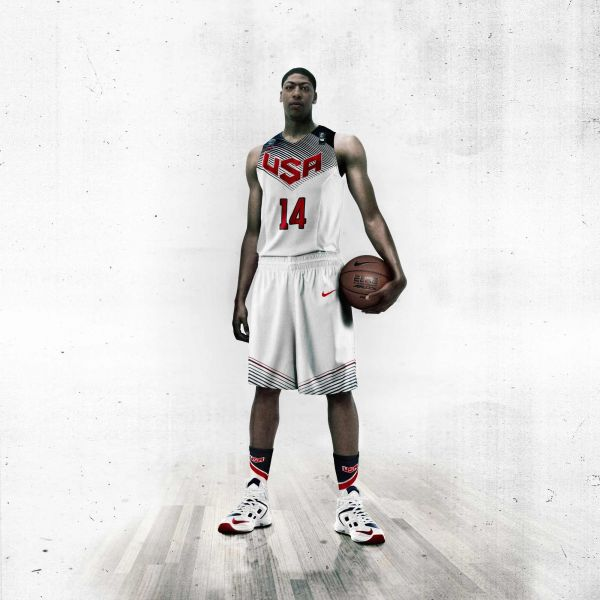 88cebb101b75 Nike Basketball Unveils USA Basketball Uniform - AXS