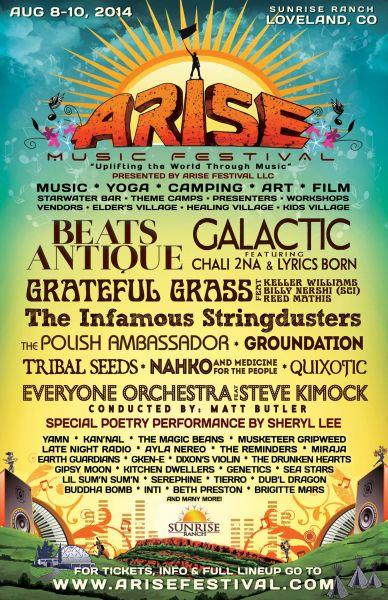 Hip-hop at Arise Festival: Minimal but important