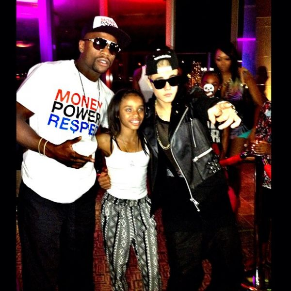 Is justin bieber dating mayweather daughter