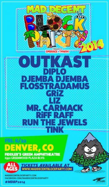 Mad Decent Block Party to energize during the dog days of summer