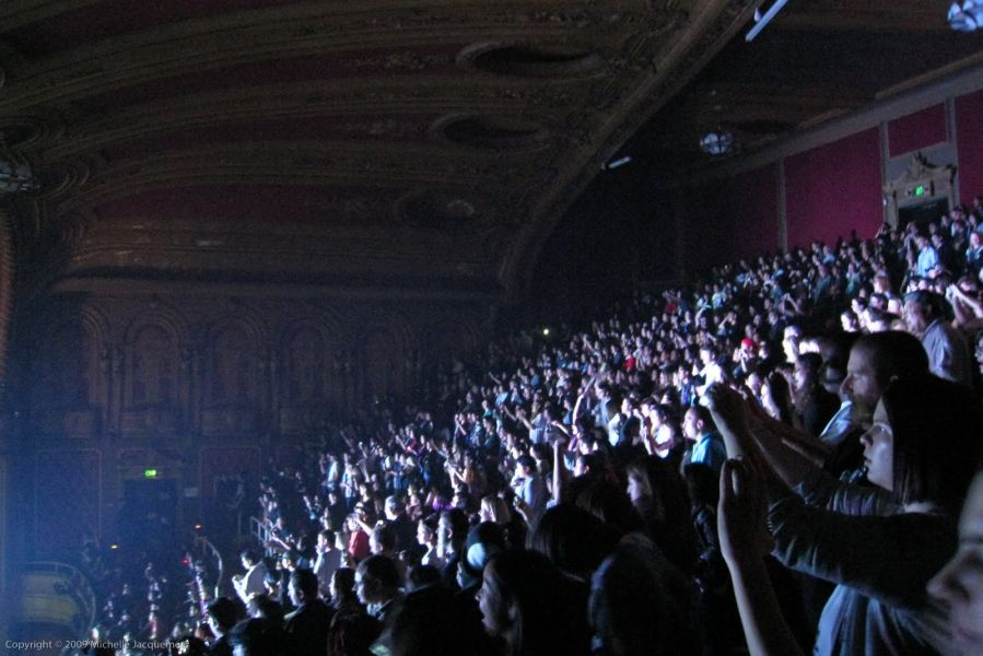 Warfield Theater Seating