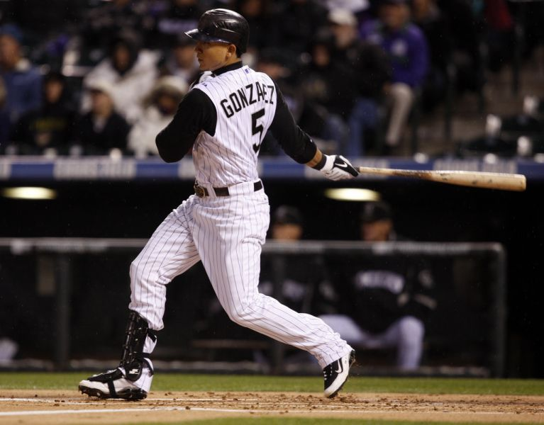 Carlos Gonzalez done for the season with a torn patella tendon