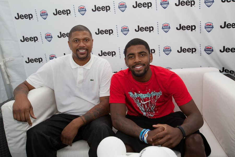 Kyrie Irving and Jalen Rose celebrate Summer of Jeep in Chicago