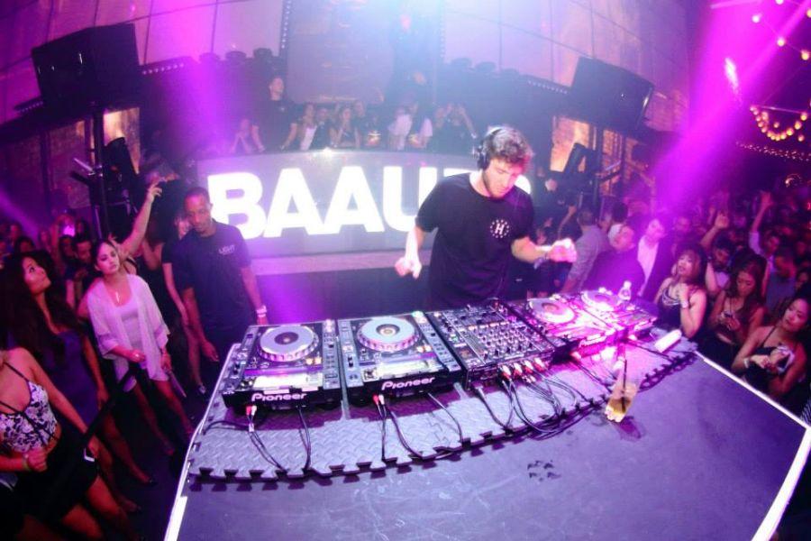 EDM producer Baauer headlines at LIGHT Nightclub for Studio B residency