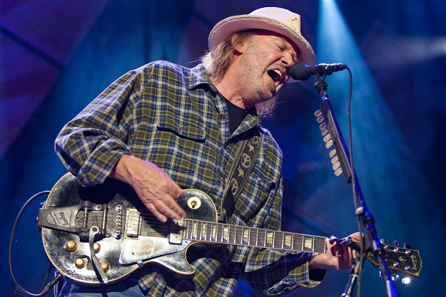 Neil Young recording two new albums with Crazy Horse