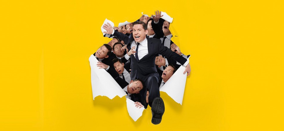 One-man sweat machine Lee Evans is on tour again
