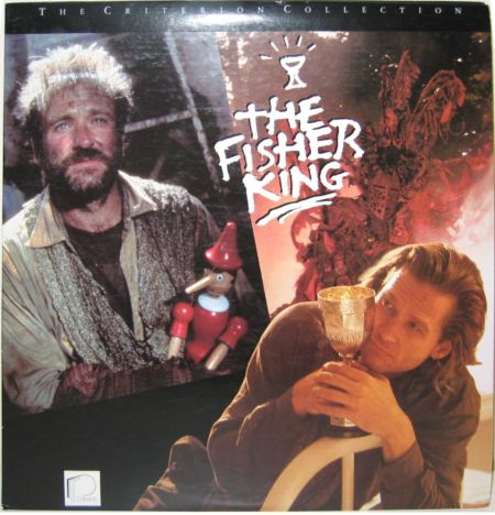 """Terry Gilliam's 1991 film """"The Fisher King"""" finds Williams in the role of Parry, a man whose life is in shambles thanks to a mass murderer w"""