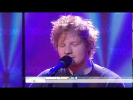 Video: Ed Sheeran debuts 'Lego House' on 'Today' show