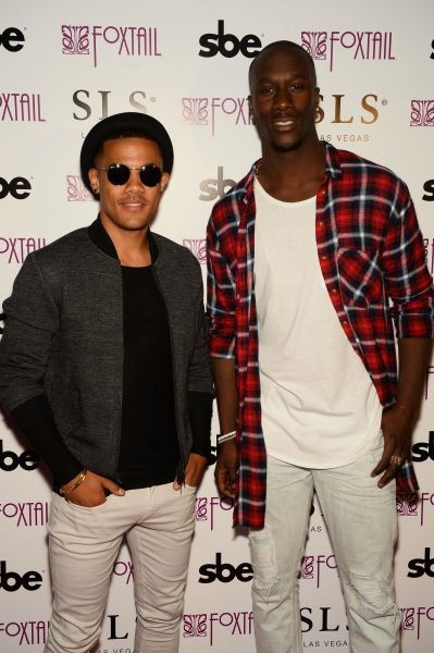 Nico & Vinz at the Foxtail Grand Opening , Aug. 30, 2014.