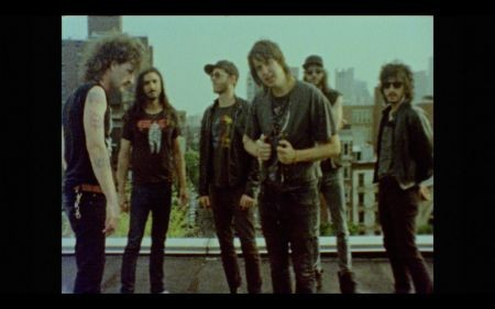 Julian Casablancas+The Voidz premiere VHS music video for 'Where No Eagles Fly'