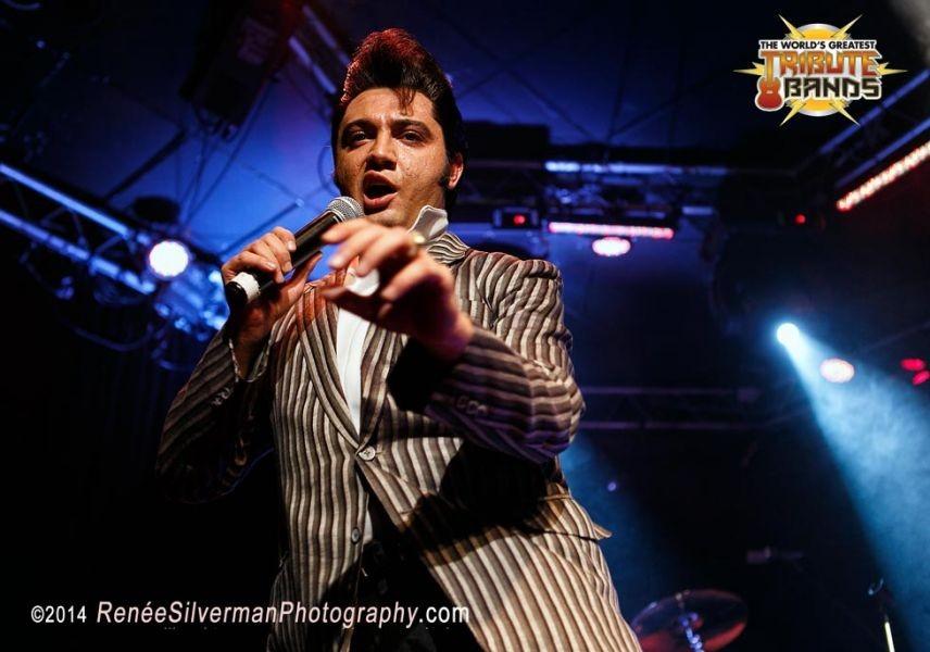 Ultimate Elvis tribute artist Justin Shandor stays true to The King