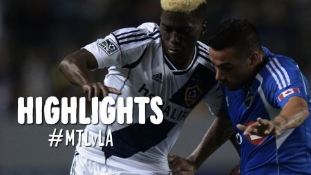 LA Galaxy come from behind to tie Montreal Impact