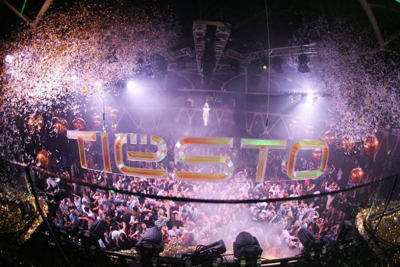 Tiësto celebrates certified Gold success with Gold Party at Hakkasan Nightclub