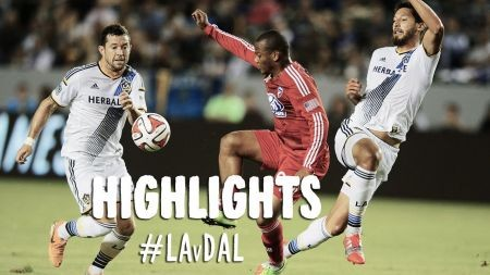 LA Galaxy come from behind to beat FC Dallas and clinch playoffs