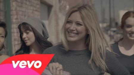 Hilary Duff line dances her way to love in 'All About You' music video