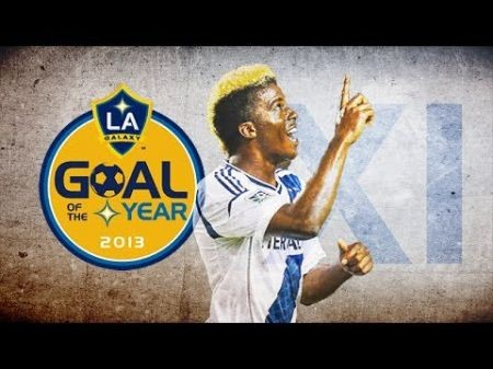 Gyasi Zardes of the LA Galaxy was ranked #4 in the 24 Under 24 by Adidas