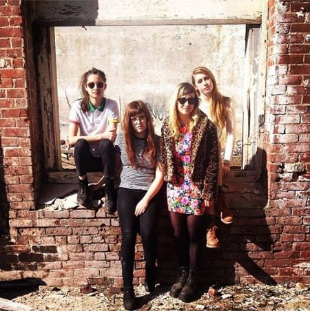 An all-girl quartet hailing from western Massachusetts (Northampton), Potty Mouth released their debut LP Hell Bent in September 2013 via Ol