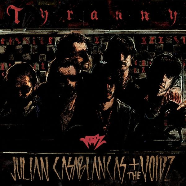 Julian Casablancas unveils cover art and tracklist for 'Tyranny' with The Voidz