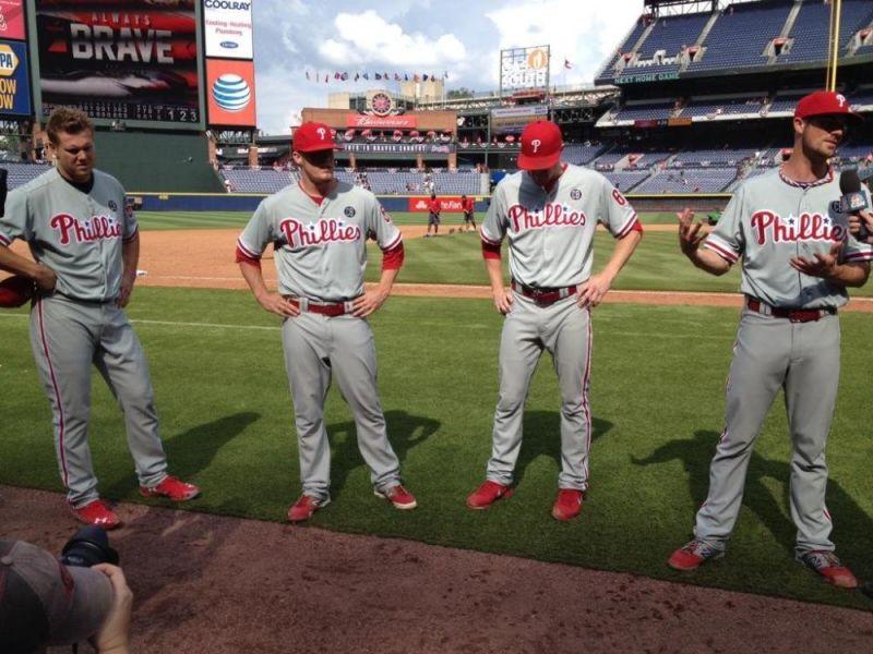 Philadelphia Phillies throw historic combined no-hitter