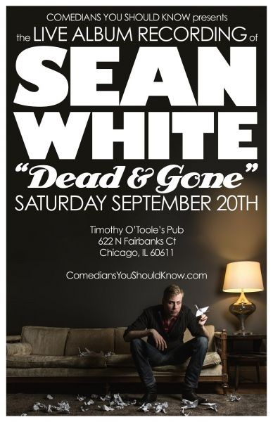 Comedian Sean White records live album during two sets at Timothy O'Tooles