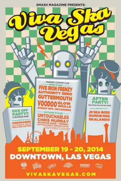 Viva Ska Vegas takes up residence downtown this weekend