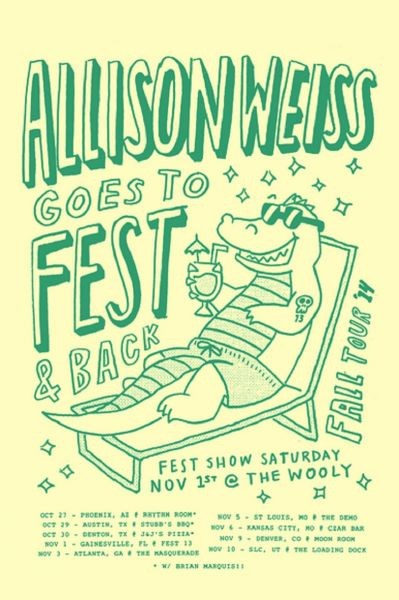Allison Weiss announces dates surrounding FEST